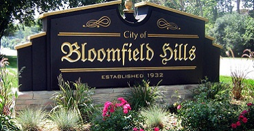bloomfield hills michigan